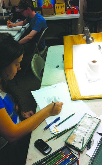 Teens Art Classes - Desert Art Academy